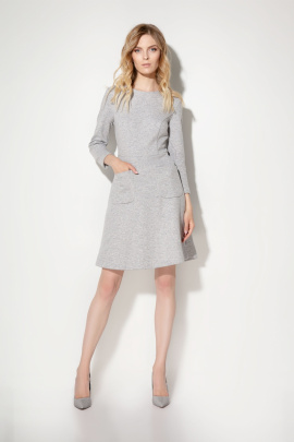Платье Prio 706380 серый