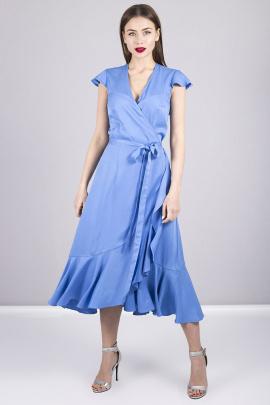 Платье MurMur 10031 голубой