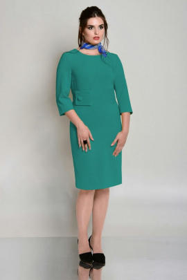 Платье ROMA MODA outlet M151 бирюза