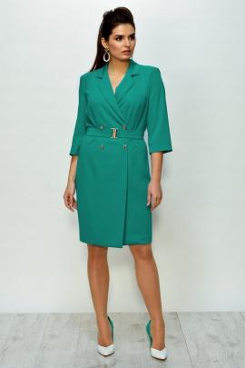 Платье ROMA MODA outlet M155 бирюза