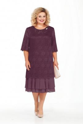 Платье Pretty 906 баклажан