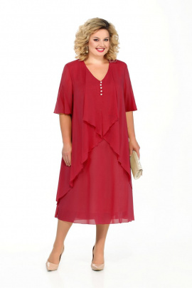 Платье Pretty 915 красный