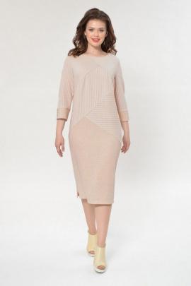 Платье Faufilure С874 бежевый
