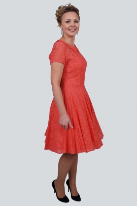 Платье Zlata 1638A коралл
