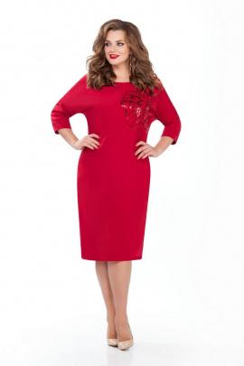 Платье TEZA 125 красный