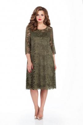 Платье TEZA 249 зелень