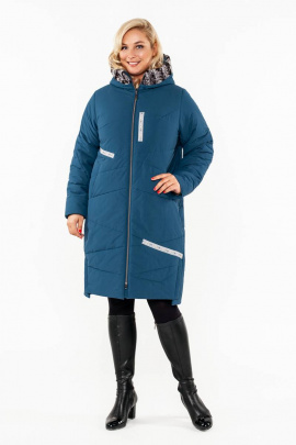 Пальто Bugalux 928 164-изумруд