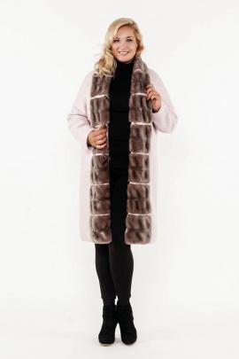 Пальто Bugalux 955 170-розовый