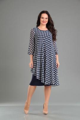 Платье IVA 741_1 горохи