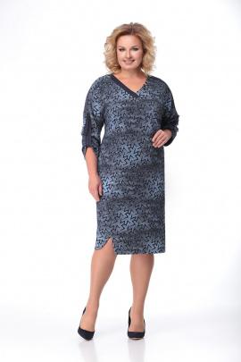 Платье Мишель стиль 803 синий