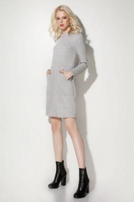 Платье Prio 706980 серый