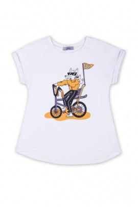 Майка Bell Bimbo 170246 белый/желтый