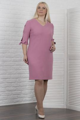 Платье VIZAVI 610 розовый_с_блеском