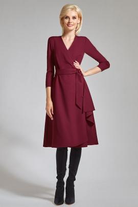 Платье AYZE 1299 марсала