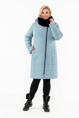 Пальто Bugalux 937 176-серо-голубой