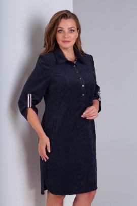 Платье Basagor 457 синий