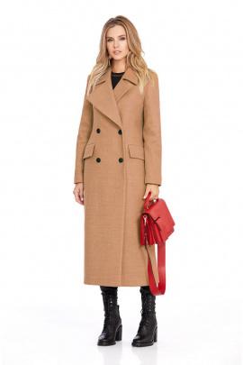 Пальто PiRS 801 светло-коричневый