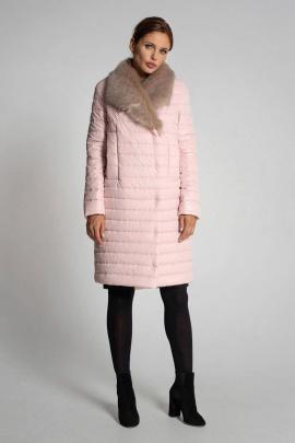 Пальто Gotti 414-1м розовый