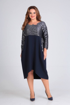 Платье SVT-fashion 485 синий