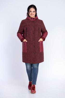 Пальто Jersey 1740 бордо