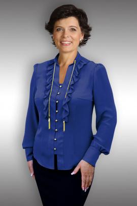 Блуза Таир-Гранд 62242 т.синий
