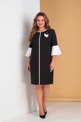 Платье Moda Versal П2091 черный