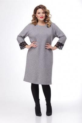 Платье Djerza 1317 серый