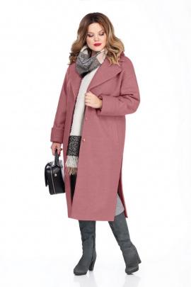 Пальто TEZA 267 розовый