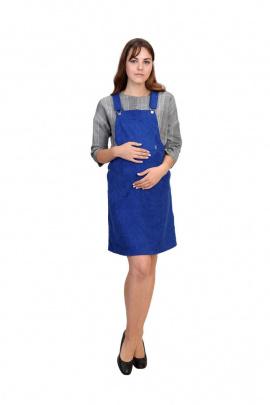 Платье BELAN textile 4214 синий