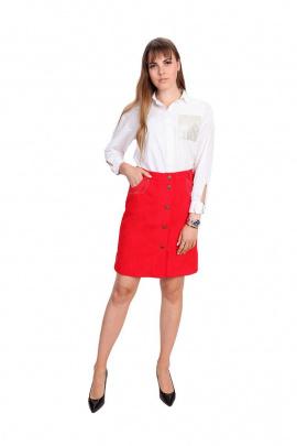 Юбка BELAN textile 6303 красный