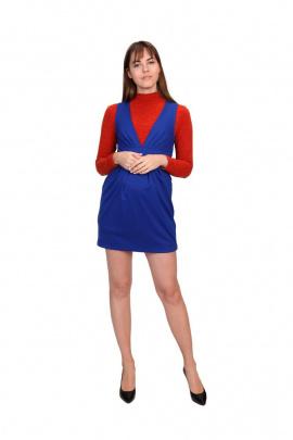 Платье BELAN textile 4602 синий