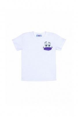 Майка Bell Bimbo 170171 белый/фиолетовый