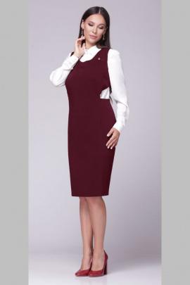 Платье ROMA MODA outlet M117 бордо