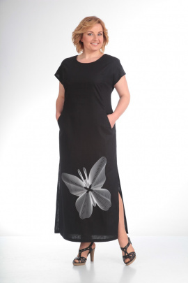 Платье Diamant 1090 черный