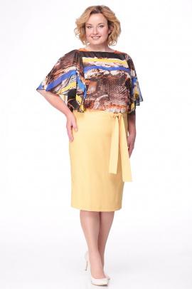 Платье Michel chic 675 желтый
