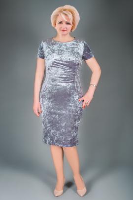 Платье Manklover 917 серый
