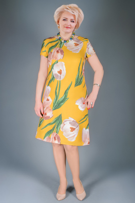 Платье Manklover 903 желтый
