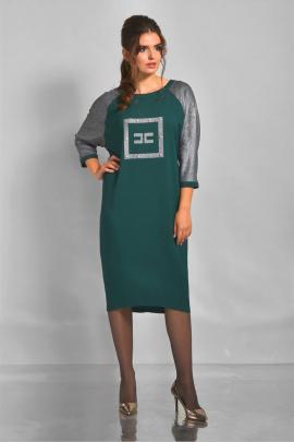 Платье Faufilure outlet С801 зеленый
