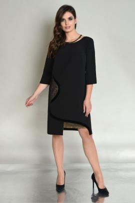 Платье Faufilure outlet C475 черный