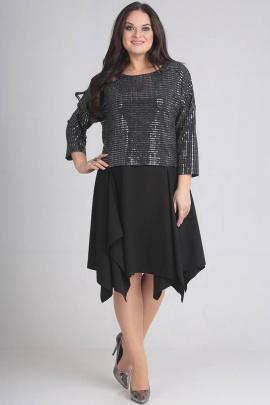 Платье SVT-fashion 487 черный