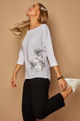 Блуза Lamajka L9243 белый
