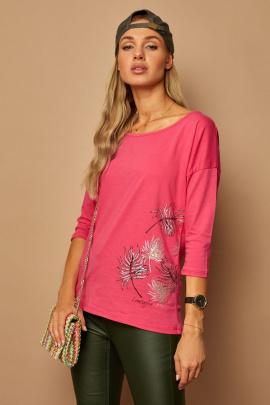 Блуза Lamajka L9243 фуксия