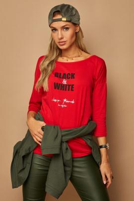 Блуза Lamajka L9245 красный