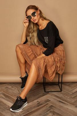 Блуза Lamajka L9246 черный