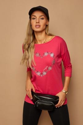 Блуза Lamajka L9257 фуксия
