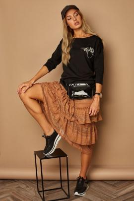 Блуза Lamajka L9262 черный