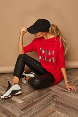 Блуза Lamajka L9269 красный