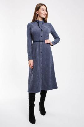 Платье Madech 195339 серо-голубой