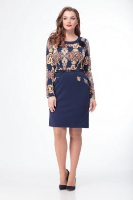 Платье Anelli 107 узоры