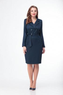 Платье Anelli 342 синий